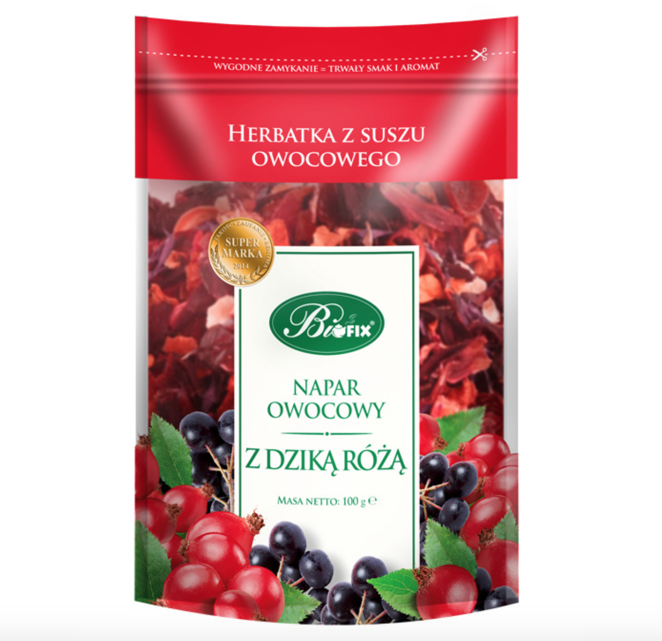 Tea Infusions Fruits Brew with Rosehip, 0.22 lb/ 100 g