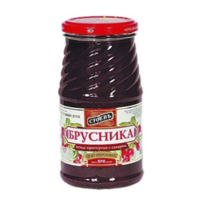 lingonberry grated with sugar, 1.26 lb/ 570 g
