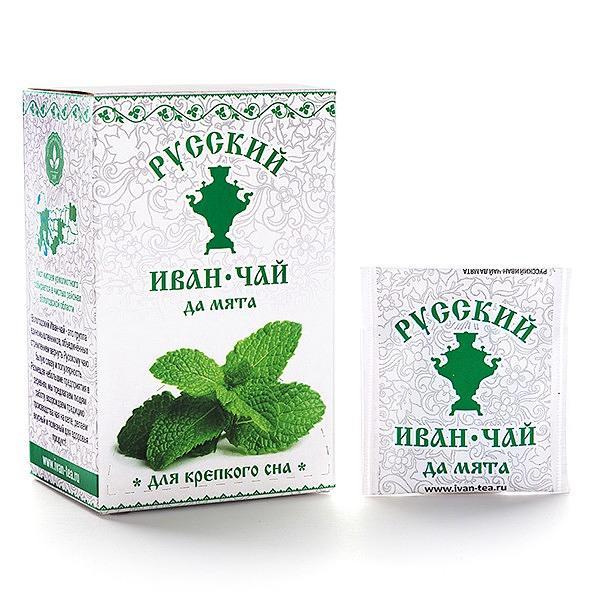 Ivan Tea with Peppermint, 25 tea bags