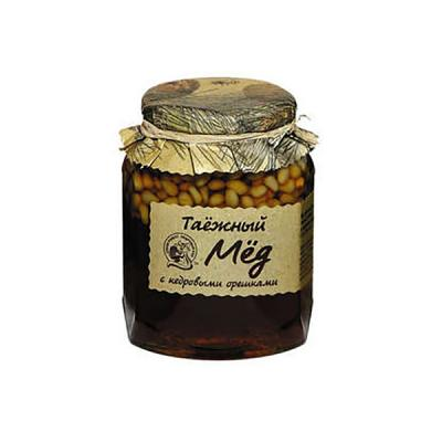 Taiga Honey with Pine/Cedar Nuts, 16.22 oz/ 460 g