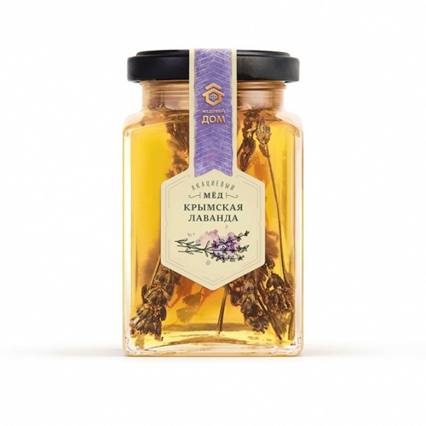 Acacia Honey with Crimean Lavender Sprig, 11.3 oz / 320 g