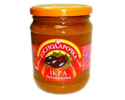 Gospodarochka Eggplant Spread, 1.03 lb/ 470 g