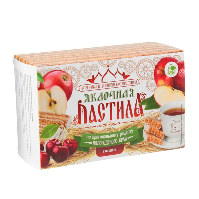 Pastila Apple & Cherry, Ivan Chaikin, 110 g/ 0.24 lb