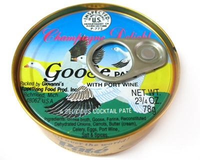 Goose Pate with Port Wine, 2.75 oz / 78 g