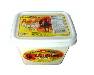 Amish Farmer Cheese, 1 lb / 0.45 kg