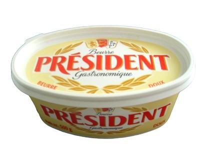 """Butter """"President"""", 8.8 oz / 250 g"""