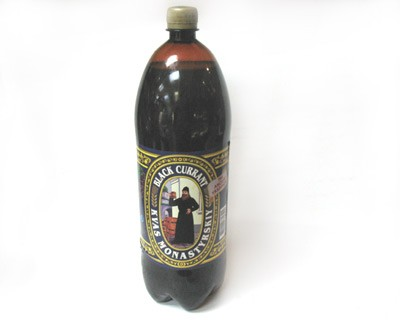 Monastery Kvass with Black Currant, 67.6 oz / 2 L
