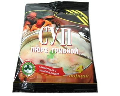 Mushroom Soup Puree, 4 Servings