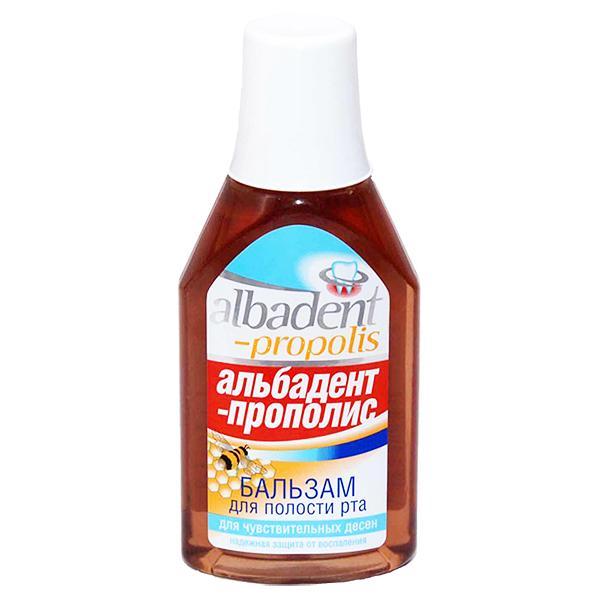 Albadent Antiseptic Mouthwash with Propolis, 13.52 oz / 400 ml