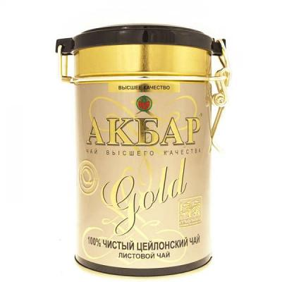 Akbar Gold Pure Ceylon Leaf Tea, 8.8 oz / 250 g