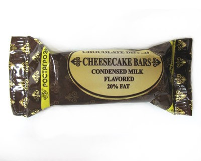 Cheesecake bars condensed milk flavored