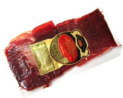 Sliced Basturma Cured and Dried Beef Strip, 0.5 lb/ 0.22 kg