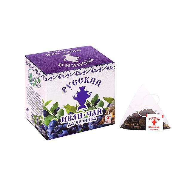 Ivan Tea with Blueberry, 10 pyramids