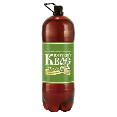 """Kvass """"Vyatsky"""" for Okroshka (Cold Soup), 0.79 gal / 3 L"""