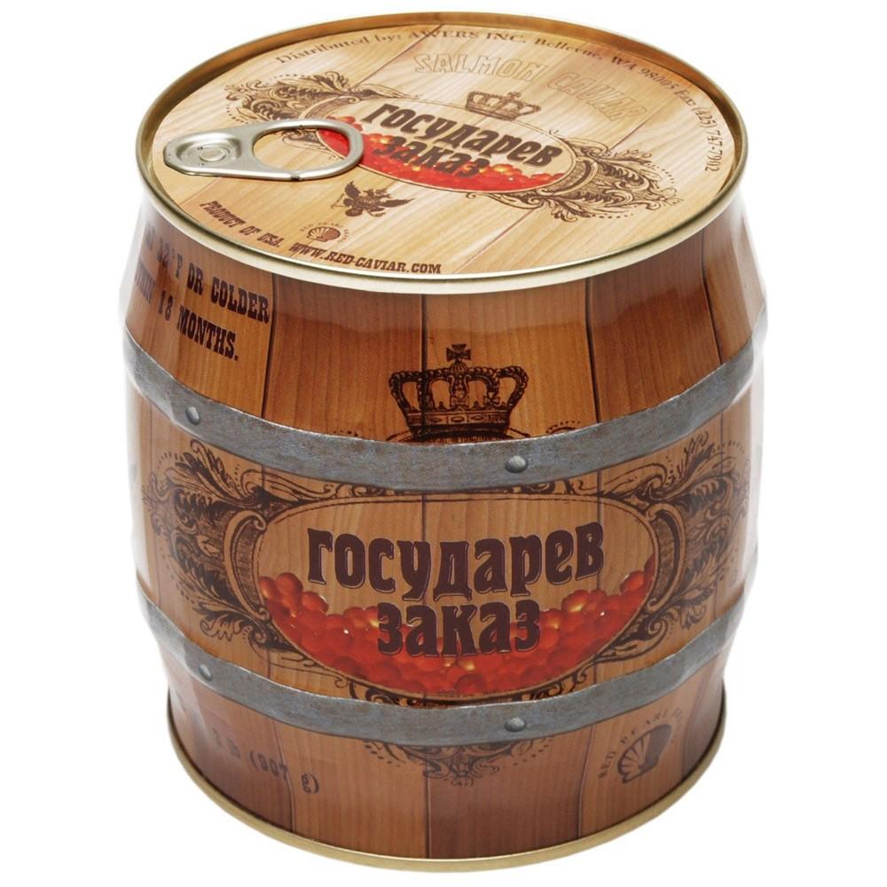 "Red Caviar ""Gosudarev Zakaz"", 2 lbs / 907 g"