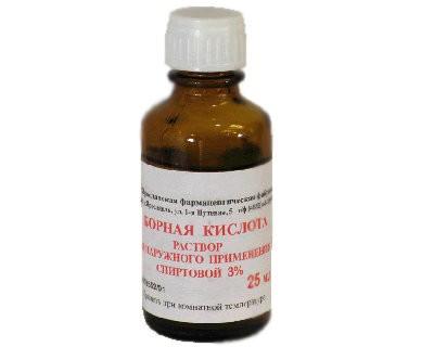 Boric Acid, 0.84 oz/ 25 Ml