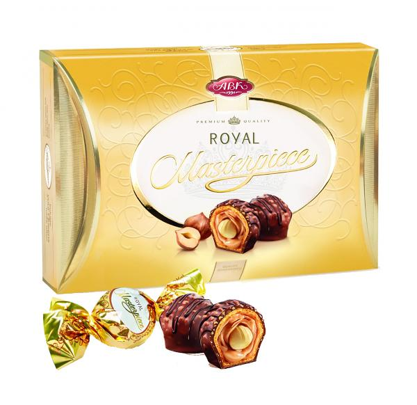 "Chocolate Candy ""Royal Masterpiece"" with Whole Hazelnuts,  245 g"