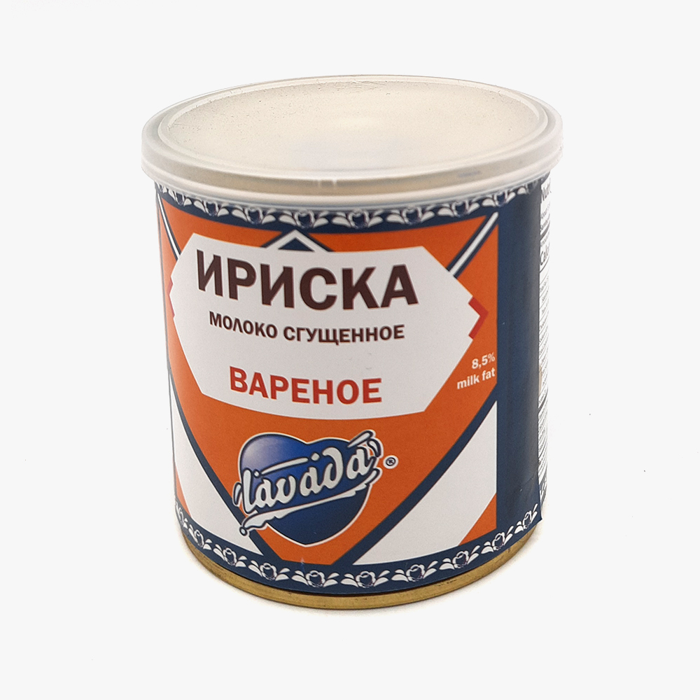 Boiled Condensed Milk Toffe (Ukraine), 380 g / 13 oz