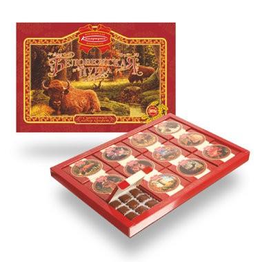 "Chocolate Candy Gift Box ""Belovezhskaya Puscha"", 37.39 oz / 1060 g"