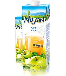 Natural Premium Armenian Noyan Apple Juice, 34 oz / 1 L