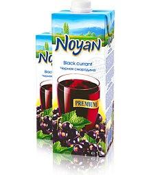 Natural Premium Armenian Noyan Black Currant Juice, 34 oz / 1 L