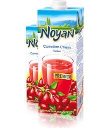 Natural Premium Armenian Noyan Cornelian Cherry Juice, 34 oz / 1 L