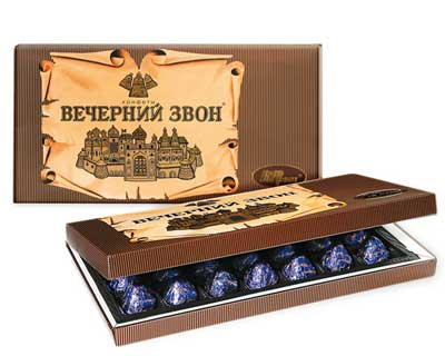 "Chocolate Candy ""Vecherniy Zvon"", 11.3 oz/ 320 g"