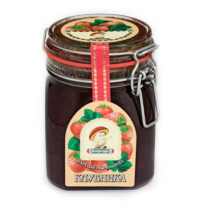 Homemade Preserve w/ Strawberry, 35.27 oz / 1000 g (Ekoprodukt)