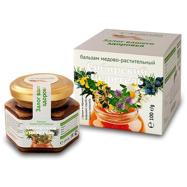 """""""Siberian Healer"""" Balm Honey-Vegetative, 3.5 oz/ 100 g"""