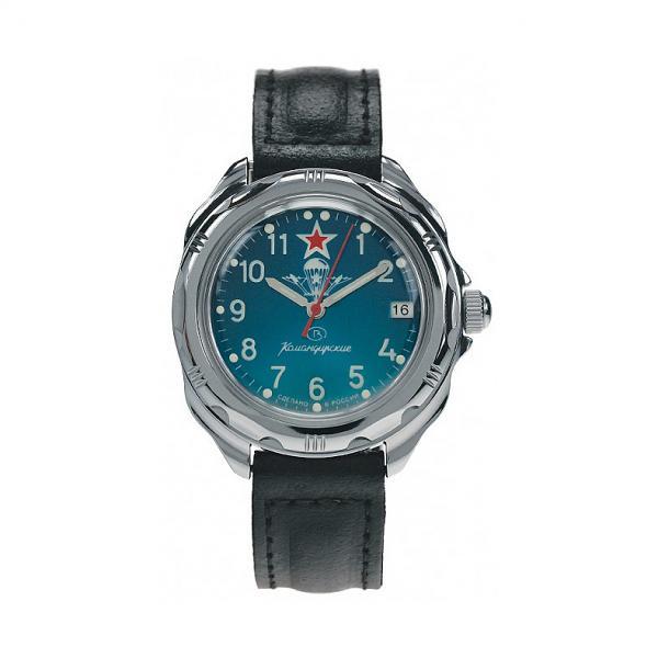 Vostok Komandirskie Military Russian Mechanical Watch Commander VDV (211307)