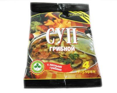 Mushroom Soup, 4 Servings