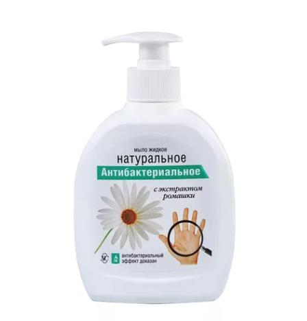 Liquid Antibacterial Soap w/ Chamomile Extract, Neva Cosmetics, 300 ml/ 10.14 oz