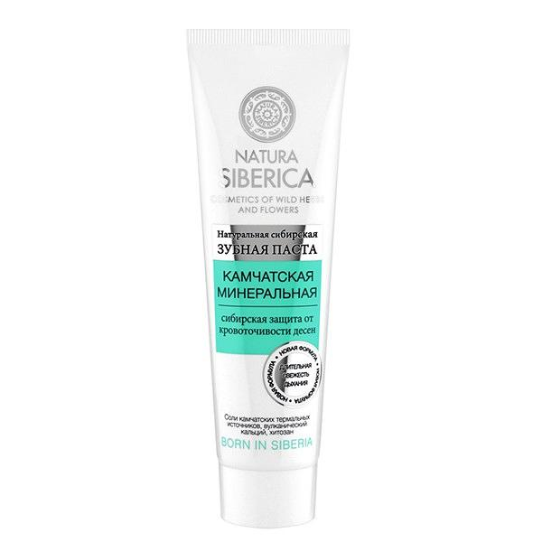 "Natural Siberian Strengthening Toothpaste ""Kamchatka Mineral"", 3.35 oz/ 100 g (Natura Siberica)"