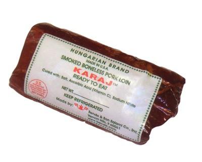"Smoked Boneless Pork Loin ""Karaj"", 1 - 1.5 lb"