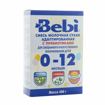 "Baby Dry Milk Mix with Prebiotics ""Bebi"" 400 g /14 Oz"