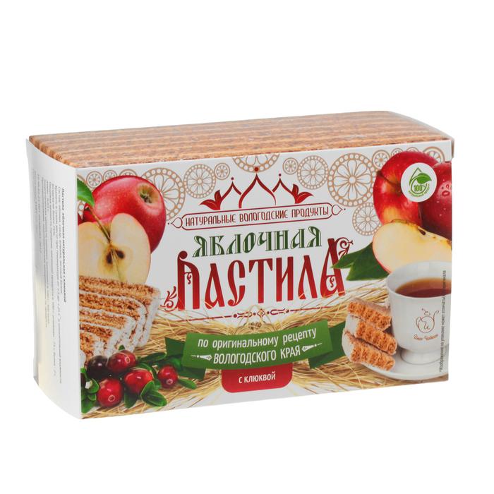Pastila Apple & Cranberries, Ivan Chaikin, 110 g/ 0.24 lb