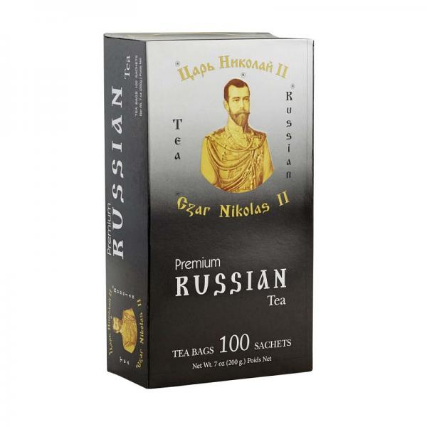 Tea Czar Nicholas II Premium Russian Tea, 100 tea bags