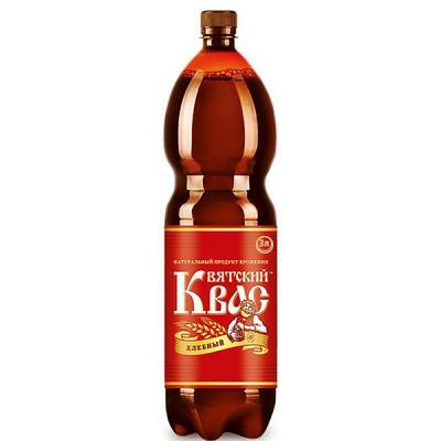 "Kvass ""Vyatsky"" Hlebniy (Bread), 0.79 gal / 3 l"