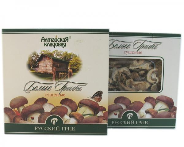 Dry White/ Porcini Mushrooms, 1.76 oz/ 50 g