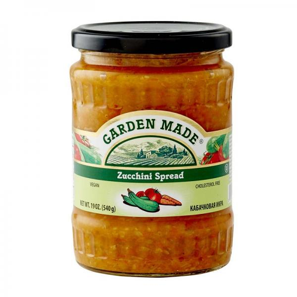 Zucchini Spread Garden Made, 19 oz/ 540 g