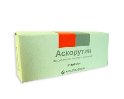 Ascorutin, 50 Tabs