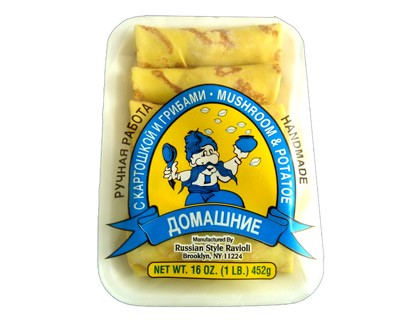 Blintzes with Mushroom and Potato, 1 lb / 425 g