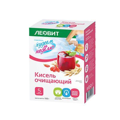 Detox and Cleansing Kissel, 20 g / 1 pack (Leovit)