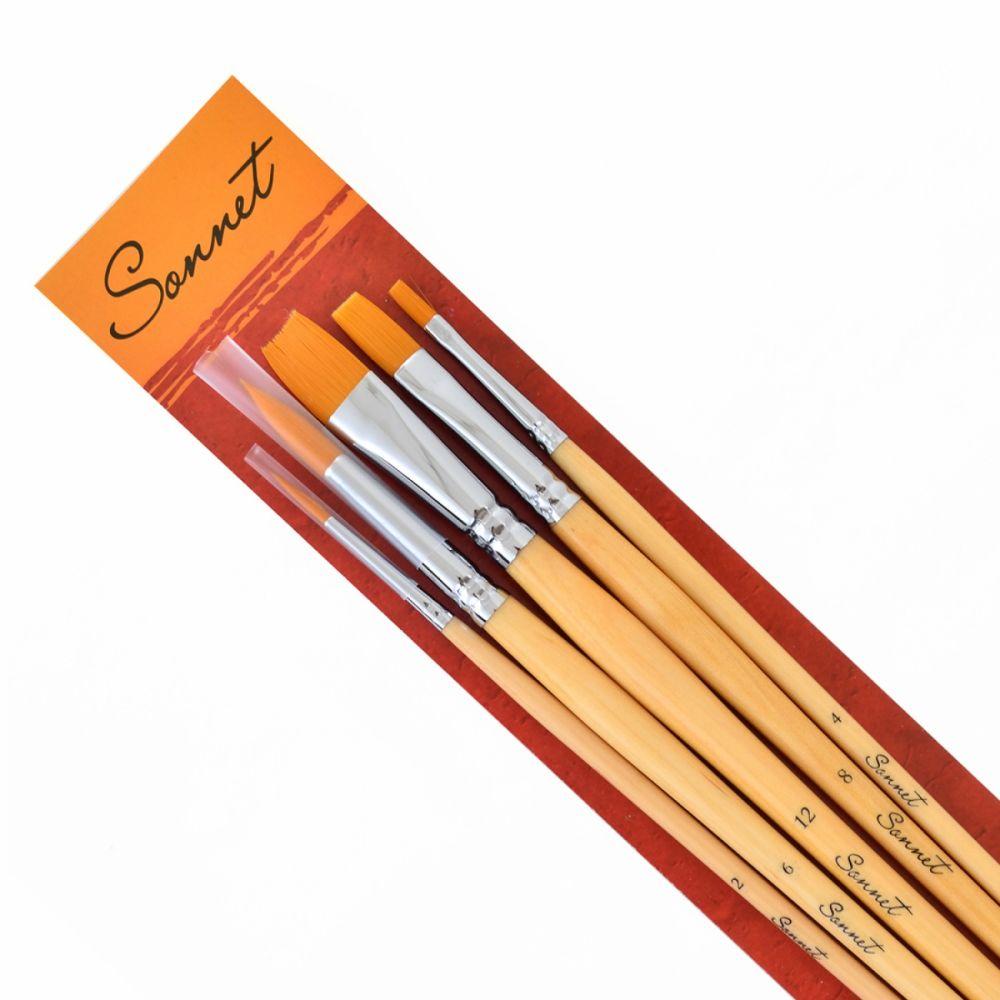 Sonnet Synthetic Brush Set №3