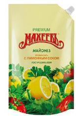 "Premium Mayonnaise Maheev ""Provencal"" with Lemon Juice, 13.52 oz/ 400 Ml"