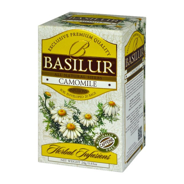 Basilur: Camomile 20x1.2g Herbal Infusions 20g/0.85oz