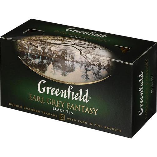 Earl Grey Fantasy Black Tea, Greenfield, 25 tea bags