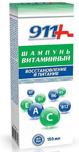 "Vitamin Shampoo ""Recovery and Nutrition"", 5.07 oz/ 150 Ml"