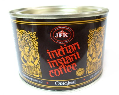 Indian Instant Coffee in Tin Box, 3.52 oz / 100 g