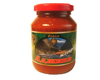 Hot Adjika Sauce (Ramal), 10.58 oz / 300 g